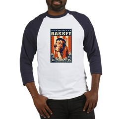 Obey the Basset Hound! Baseball Jersey