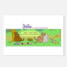 Cute Yogi bear Postcards (Package of 8)