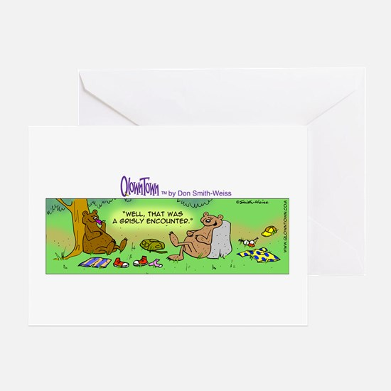 Cute Picnic basket Greeting Card