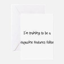 I'm training to be a Magazine Features Editor Gree