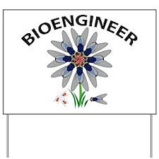 Bioengineer Illusion Yard Sign