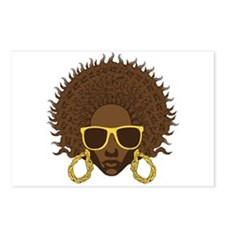 Afro Cool Postcards (Package of 8)
