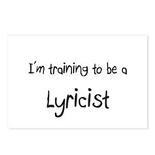 I'm training to be a Lyricist Postcards (Package o