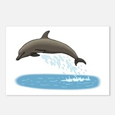Dolphin Lovers Postcards (Package of 8)