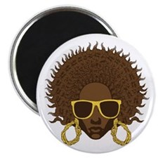Afro Cool Magnet
