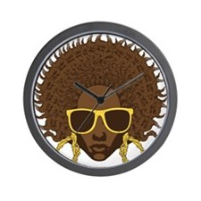 Afro Cool Wall Clock