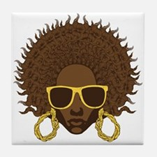 Afro Cool Tile Coaster