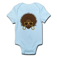 Afro Cool Infant Bodysuit