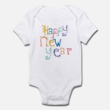 Happy New Year Infant Creeper