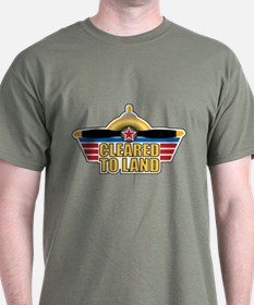 Aviation Cleared To Land T-Shirt