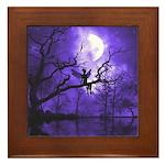 Celestial Night Framed Tile