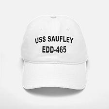 USS SAUFLEY Baseball Baseball Cap