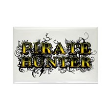 Pirate Hunter Rectangle Magnet