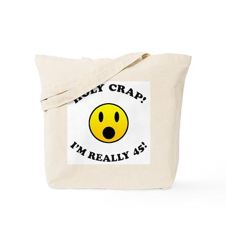 45th Birthday Gag Gifts Tote Bag
