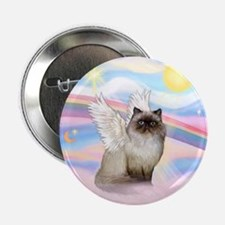 "Clouds / Himalayan Cat 2.25"" Button"