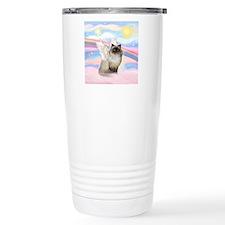 Clouds / Himalayan Cat Travel Coffee Mug