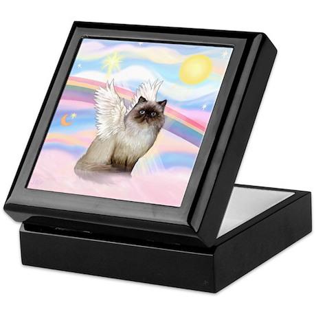 Clouds / Himalayan Cat Keepsake Box