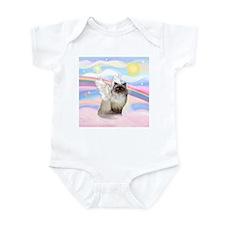 Clouds / Himalayan Cat Infant Bodysuit