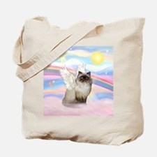Clouds / Himalayan Cat Tote Bag