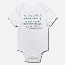 Treat The Earth Well Infant Bodysuit