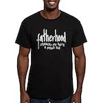 Fatherhood - Paybacks Men's Fitted T-Shirt (dark)
