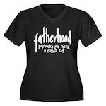 Fatherhood - Paybacks Women's Plus Size V-Neck Dar