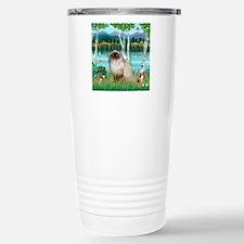 Birches / Himalayan Cat Travel Mug