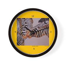 Decidedly Jealous Zebras Clocks Wall Clock