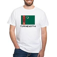 Turkmenistan Flag Shirt