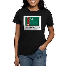 Turkmenistan Flag Tee