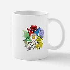 Eastern Star Floral Emblems Mug