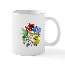 Eastern Star Floral Emblems Small Mug