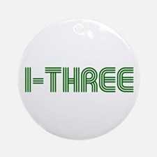I-THREE Ornament (Round)