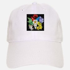 Eastern Star Floral Emblem - Baseball Baseball Cap