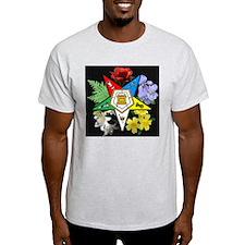 Eastern Star Floral Emblem - T-Shirt