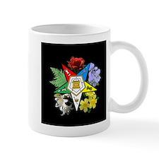 Eastern Star Floral Emblem - Mug