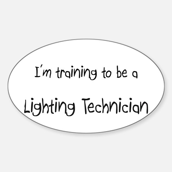 I'm training to be a Lighting Technician Decal