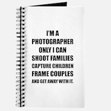 Photographer Shoot Capture Frame Journal