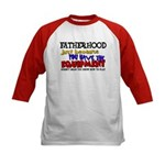 Fatherhood - Equipment Kids Baseball Jersey