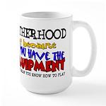 Fatherhood - Equipment Large Mug