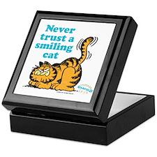 Smiling Cat Keepsake Box