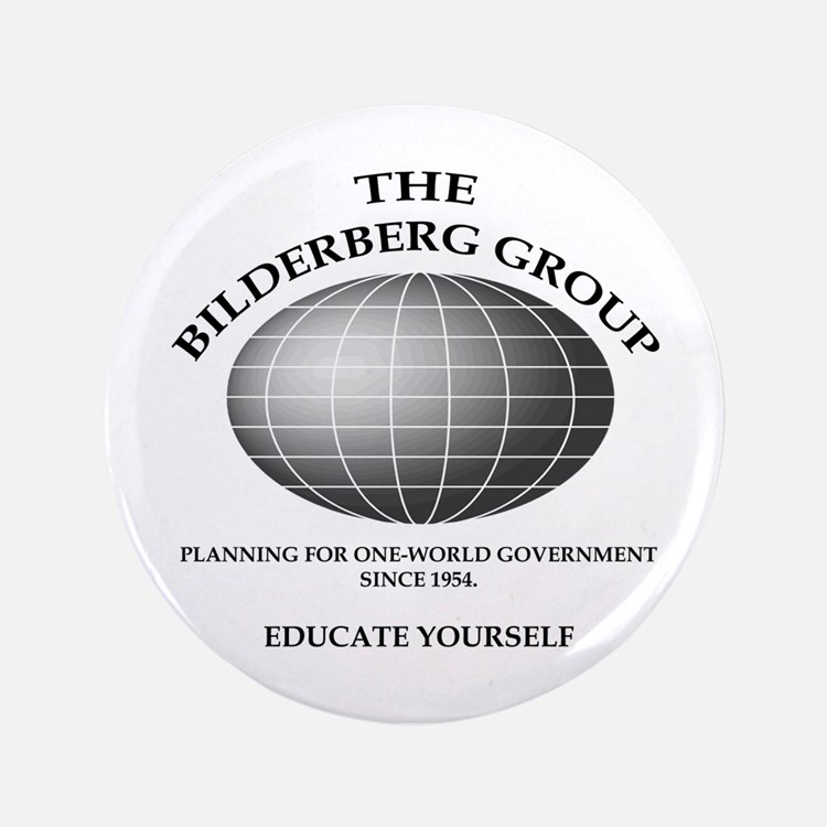 "Bilderberg Global 3.5"" Button"