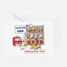 FIREHOUSE 5 Greeting Card