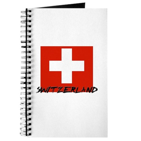 Switzerland Flag Journal