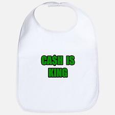 """Cash Is King"" Bib"