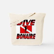 Dive Bonaire (red) Tote Bag
