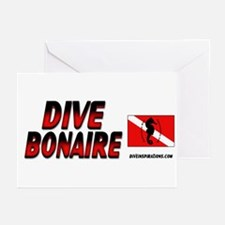 Dive Bonaire (red) Greeting Cards (Pk of 10)