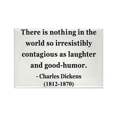 Charles Dickens 13 Rectangle Magnet (100 pack)