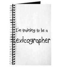 I'm training to be a Lexicographer Journal