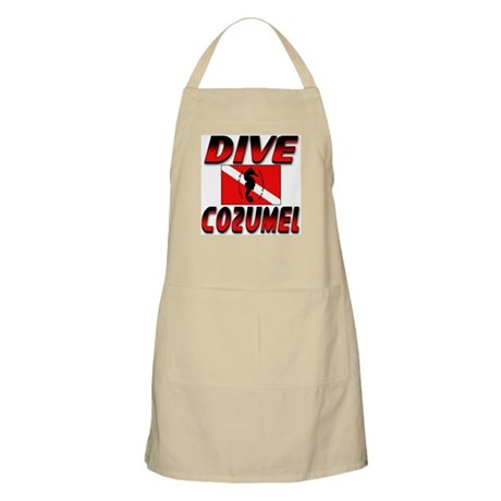 Dive Cozumel (red) BBQ Apron